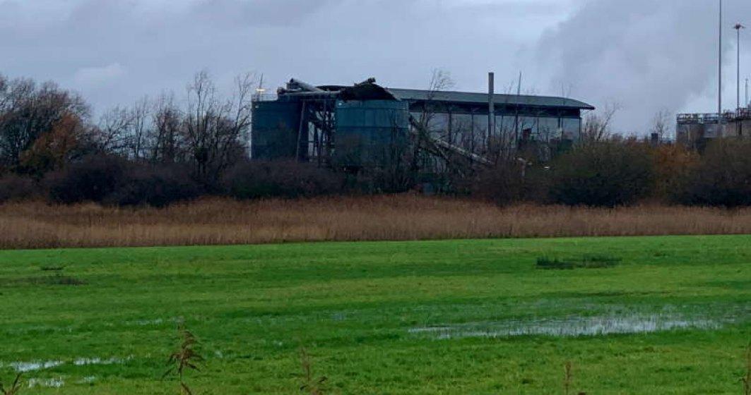Explozie la un depozit din sud-vestul Angliei