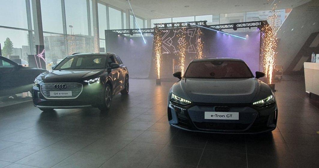 Audi a lansat în România două noi modele electrice