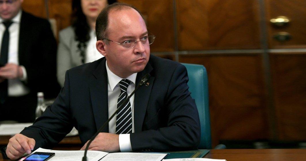 Aurescu explică de ce SUA menţin vizele pentru români: Rata de refuz este de 9-10%, limita fiind de 3%