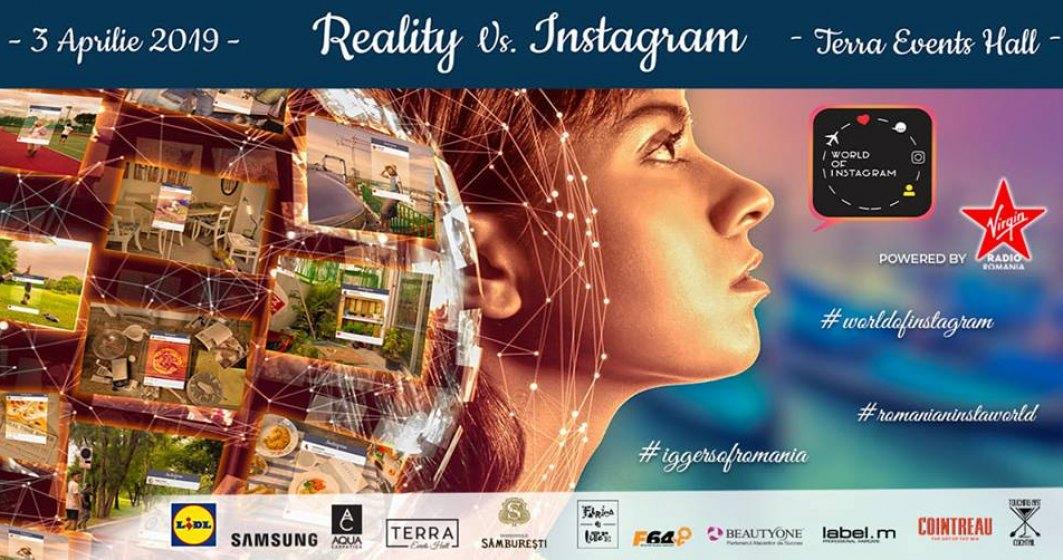 World of Instagram, editia a 7-a, are loc pe 3 aprilie, la Terra Events Hall