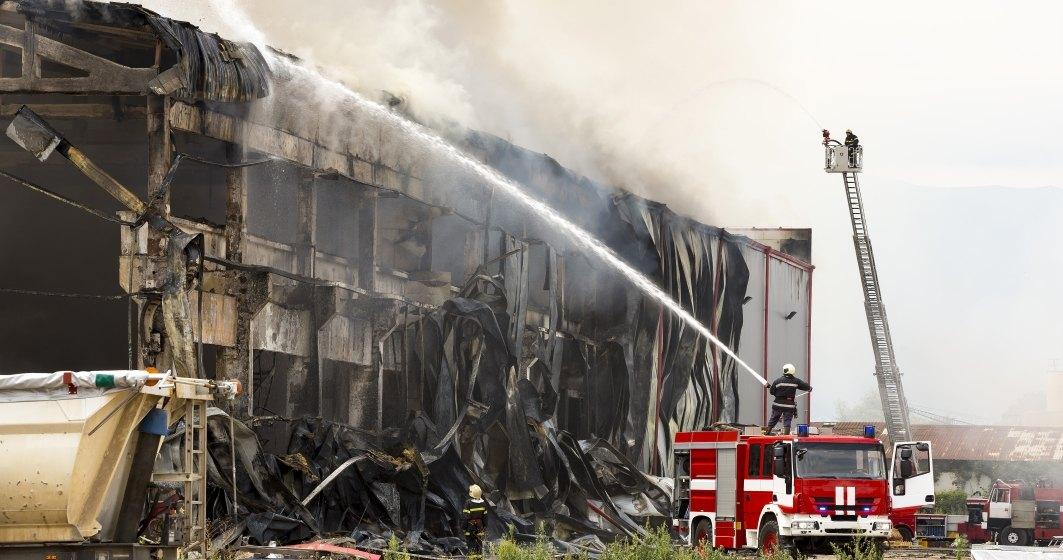 Fabrica Solina Romania de ingrediente alimentare, din judetul Alba, distrusa intr-un incendiu era asigurata de catre Omniasig