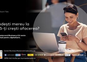 Mastercard sprijină IMM-urile cu o nouă suită de soluții pentru transformare...