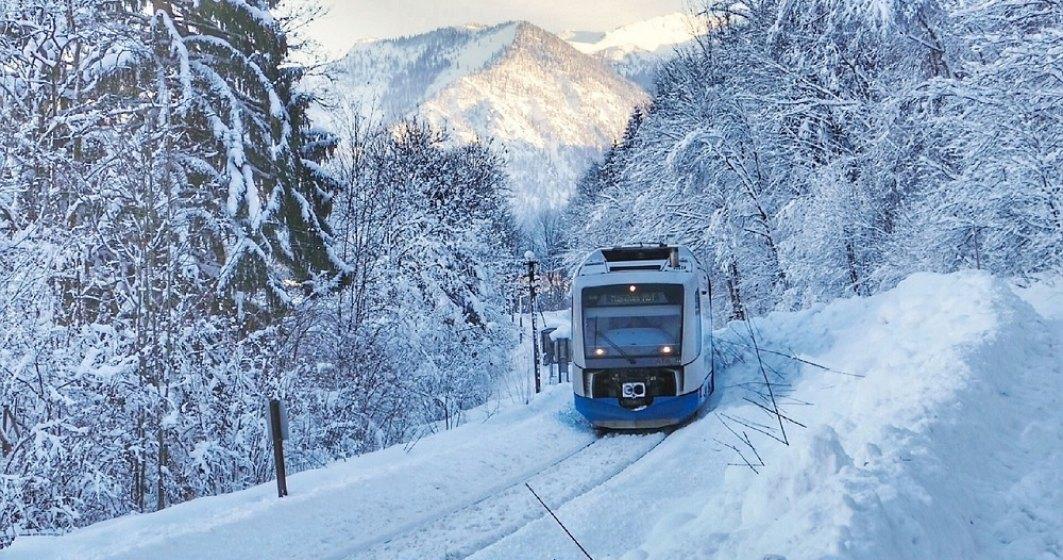 CFR Călători lansează din 4 ianuarie Trenurile Zăpezii 2021