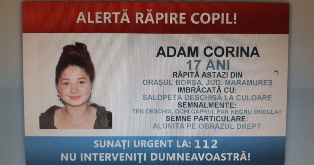 Adolescenta din Borșa, dată dispărută, a fost găsită în județul Arad