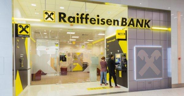 Raiffeisen Bank, profit net de 397 milioane lei în prima jumătate a anului 2021