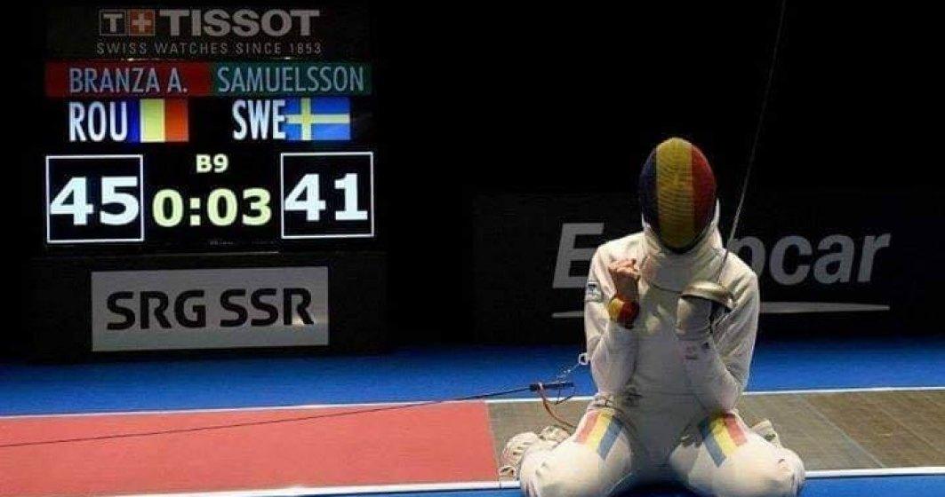 Ana Maria Brânză, câştigătorea Cupei Mondiale la spadă, pentru a patra oară