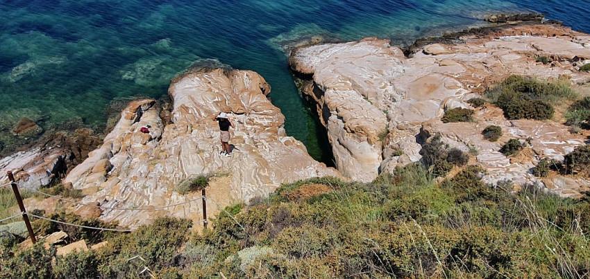 Peștera Philoctetes Lemnos Grecia