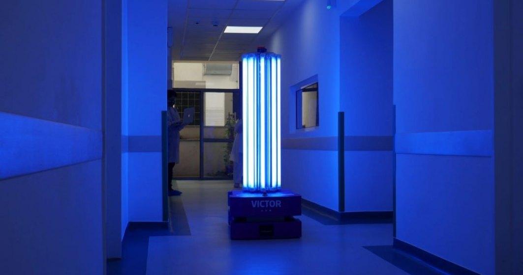 Spitalul Clinic de Urgență București Floreasca a fost dotat cu un robot care dezinfectează suprafețele