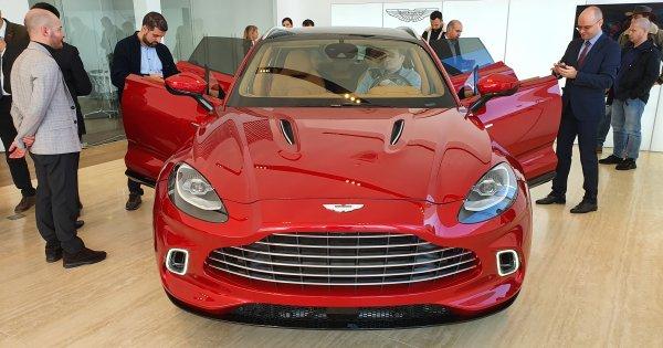 Aston Martin DBX, primul SUV din istoria brandului, a fost prezentat la...