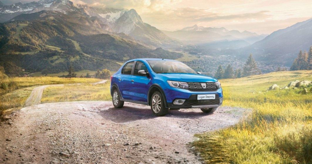 Dacia lanseaza Logan Stepway