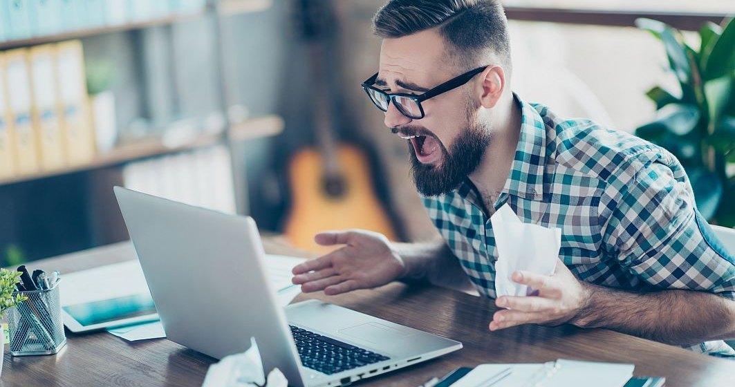 Șeful unui mare furnizor de internet a rămas fără conexiune în timp ce lăuda serviciul