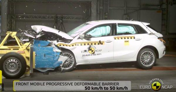 Euro NCAP a testat 7 modele noi. O mașină de oraș a obținut 3 stele