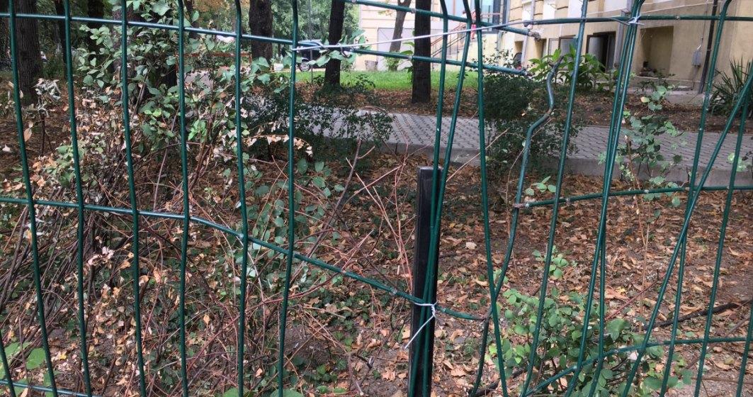 """Vandalizarea"" Muzeului Antipa din 10 august? Gardul exterior, avariat"