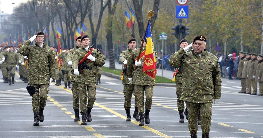1 Decembrie 2019: manifestatii in tara, programul paradei din Capitala unde defileaza 4.000 de militari si 200 de mijloace tehnice