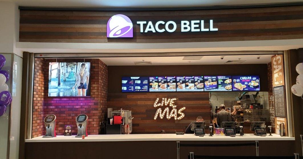 Taco Bell a inaugurat al zecelea restaurant, in Constanta