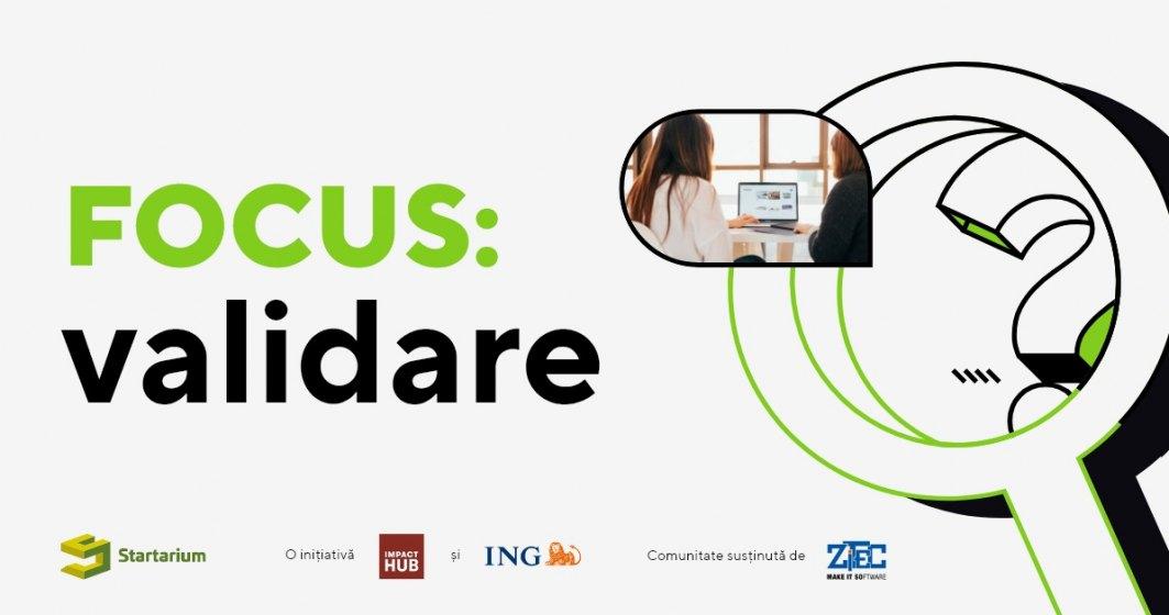 S-a lansat Startarium FOCUS, o serie de programe de mentorat pentru antreprenori. Cum pot beneficia participanții