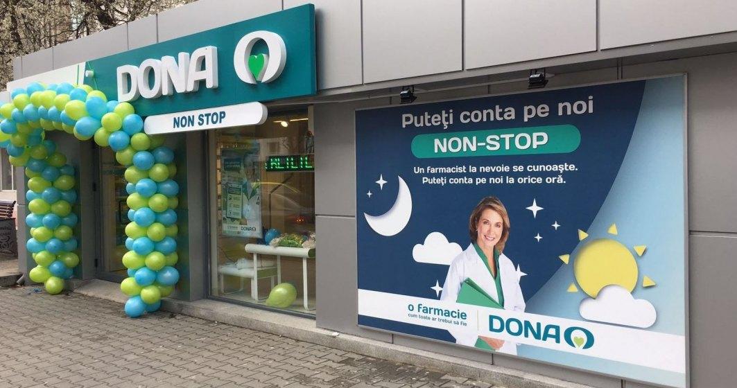 Program non-stop de sarbatori pentru 13 farmacii DONA