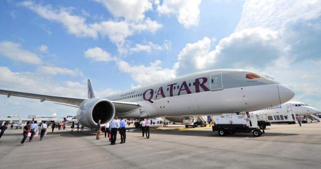 Qatar Airways a reintrodus zborurile de la București