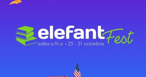 elefantFest, cel mai mare târg de carte, va avea loc în perioada...