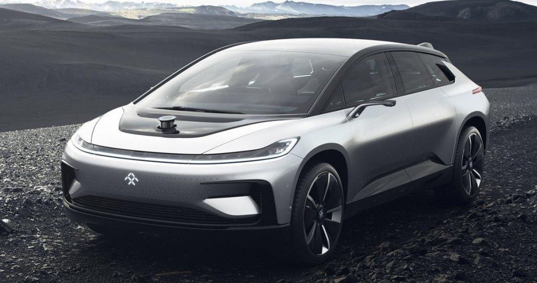 Faraday Future FF 91, un concurent pentru Tesla Model X, a debutat in America