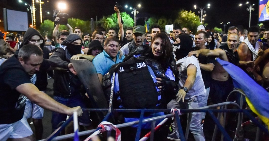 Ce scrie presa internationala despre protestul diasporei de la Bucuresti: Un protest anti - PSD din Romania se termina in violenta