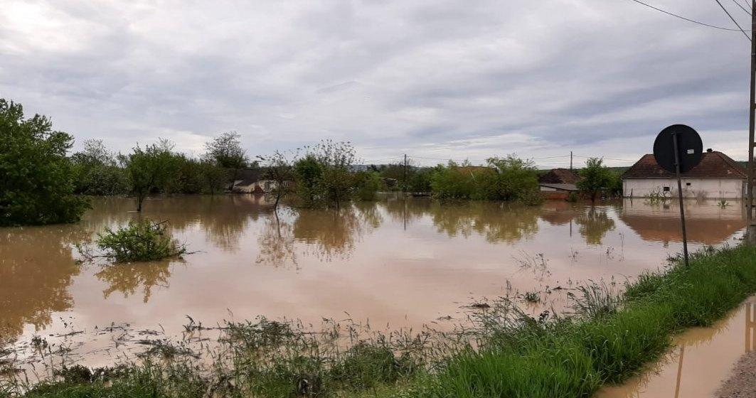 Cod galben de inundații în șase bazine hidrografice: avertizare emisă de Institutul Național de Hidrologie și Gospodărire a Apelor