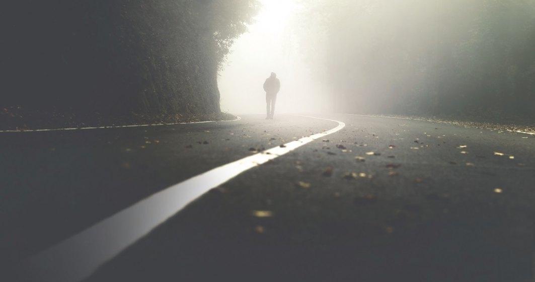 Un bărbat a mers pe jos 450 de kilometri pentru a se calma după o ceartă cu soția