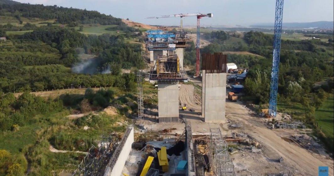 Cătălin Drulă: Stadiul lucrărilor pe lotul 1 al A1 Pitești-Sibiu este de 46%, acestea vor fi încheiate în avans, în 2022