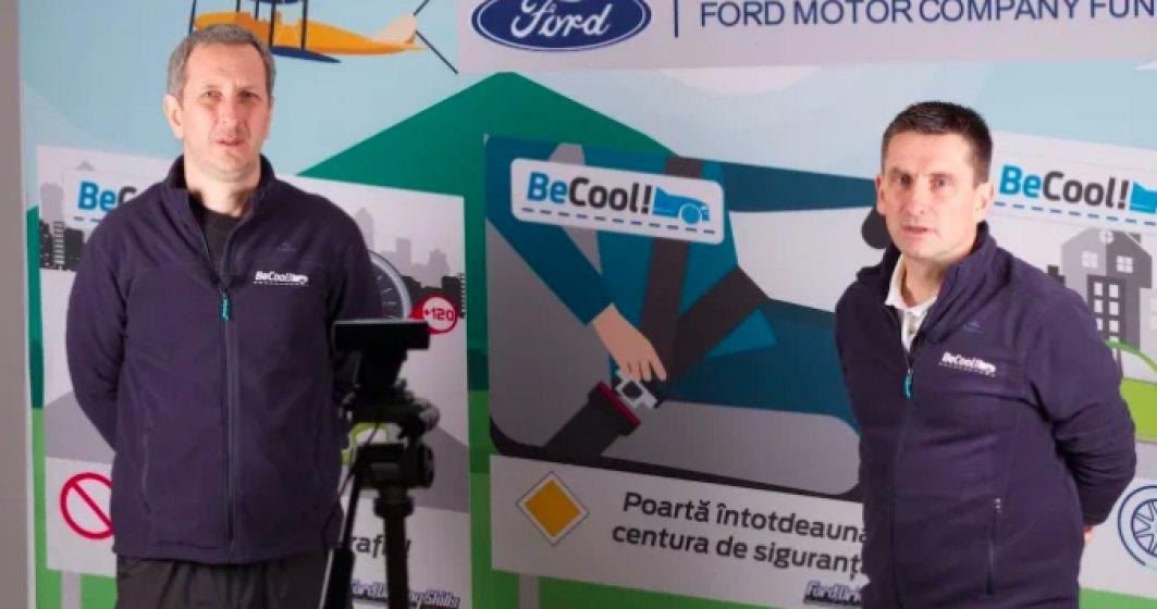 Ford România și Inspectoratul Școlar Județean Dolj oferă un program online de conducere preventivă pentru elevii craioveni