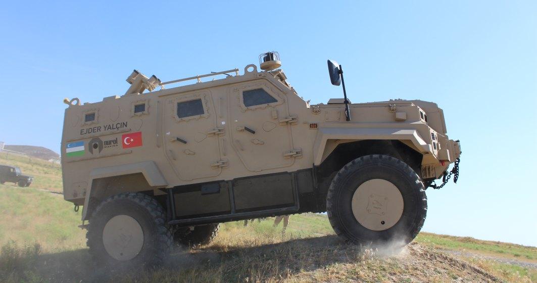 O companie turca intentioneaza sa produca vehicule blindate in Romania