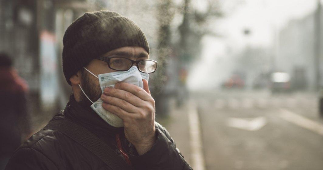 Un nor de cenuşă vulcanică traversează de duminică România, în prezent fără să polueze