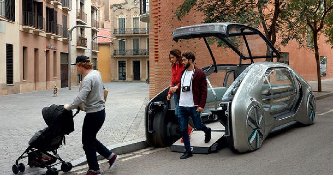 Renault EZ-GO Concept: autobuzul urban al viitorului e aici