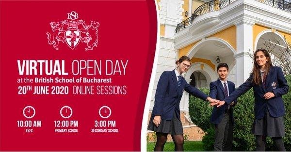 (P) British School of Bucharest se adaptează și organizează în premieră...
