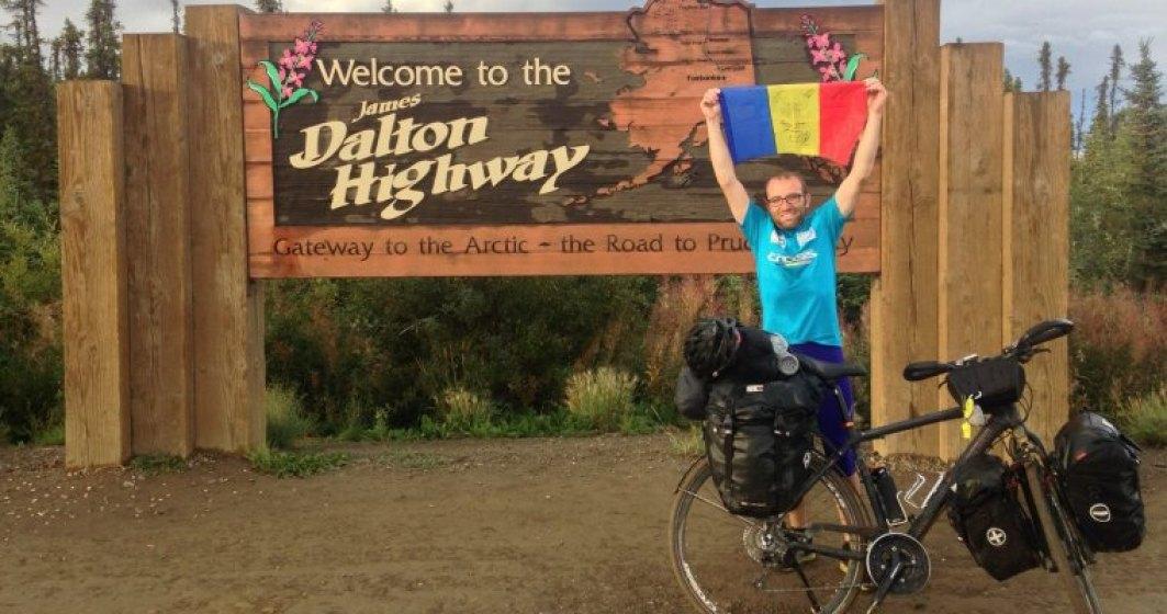 Cine este Radu Paltineanu, primul roman care traverseaza Americile pe bicicleta
