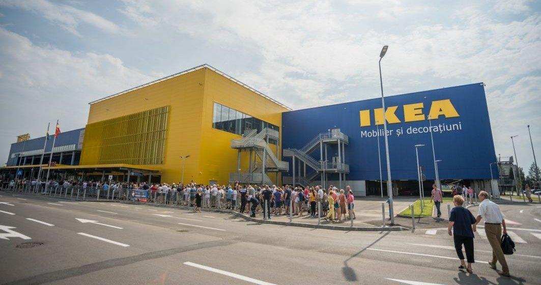 Ikea dă bani în plus angajaților aflați în șomaj tehnic; aceștia vor încasa 90% din salariu