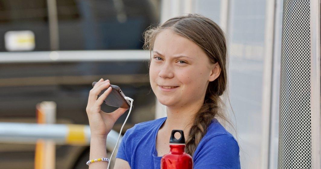 Greta Thunberg il ataca pe Roger Federer, pentru partneriatul cu Credit Suisse