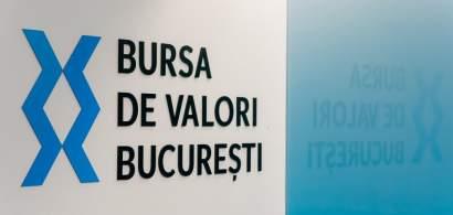Bursa de la București a pierdut 827 mil. de lei din capitalizare în această...