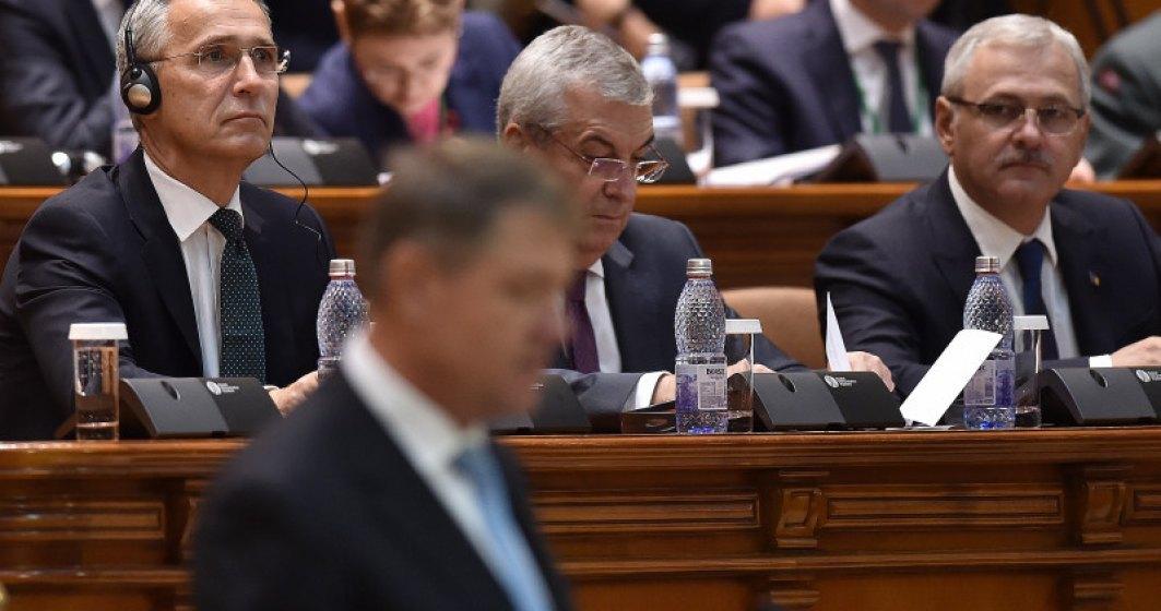 Klaus Iohannis: Guvernul arunca in haos economia, toate se vor scumpi