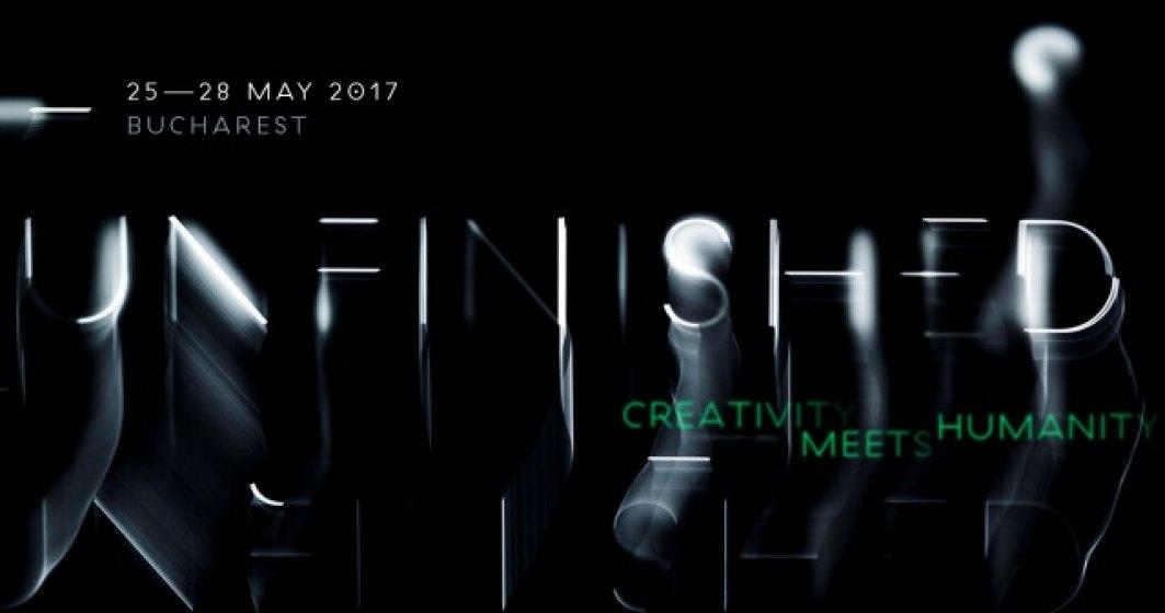 (P) Festivalul UNFINISHED aduce la Bucuresti peste 20 de lideri creativi, antreprenori si artisti internationali