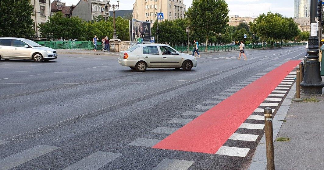 Aproximativ 7 km de piste de biciclete sunt aproape gata în București