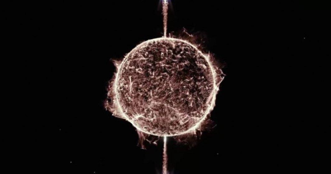 Stea căzătoare provoacă una dintre cele mai epice explozii cosmice surprinse vreodată de cercetători