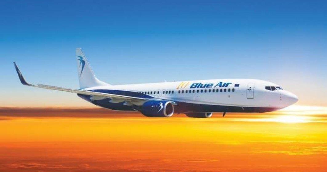 Blue Air scade numărul de zboruri către Italia