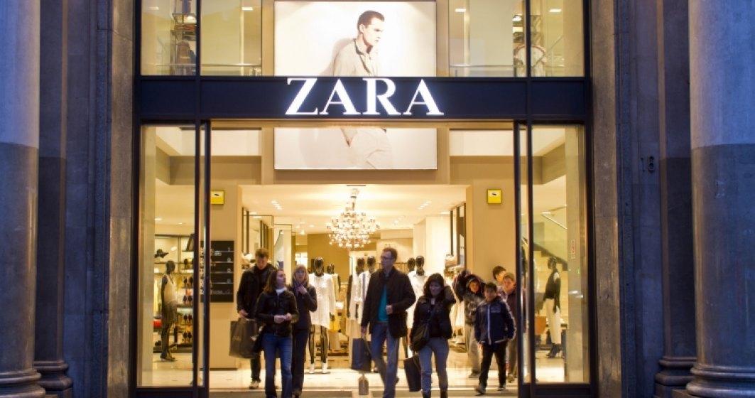 Proprietarul Zara închide temporar toate magazinele sale din Spania
