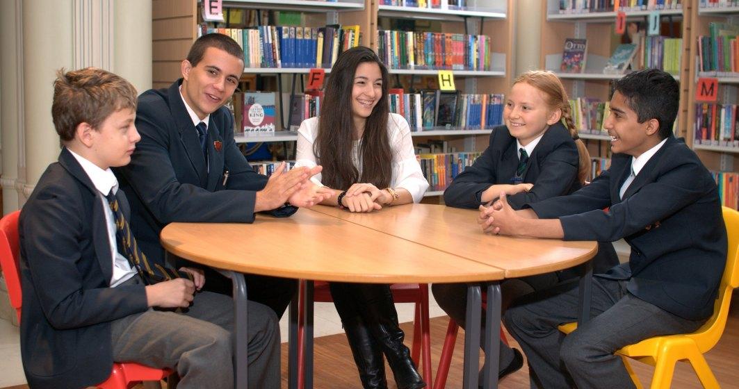British School of Bucharest a dat startul programului de burse