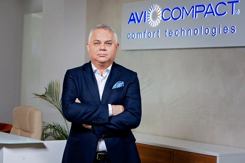 Florin Rădulescu, fondator Avi Compact