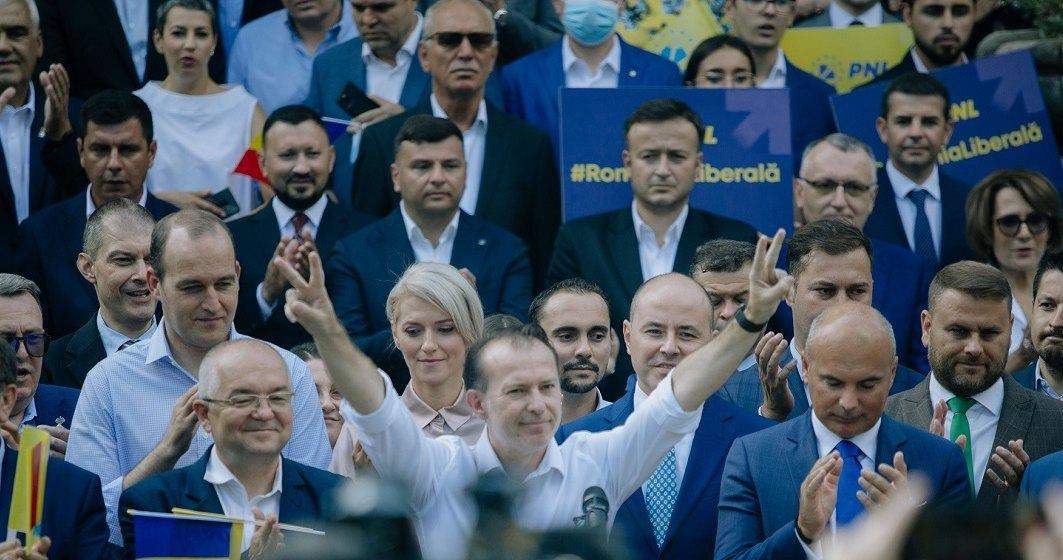 Florin Cîțu a câștigat împotrvia lui Ludovic Orban în cursa pentru șefia PNL