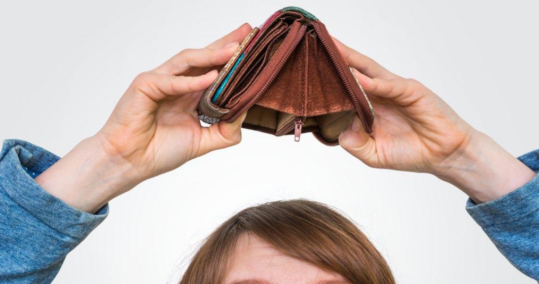 Top 5 cele mai mici salarii medii nete din România