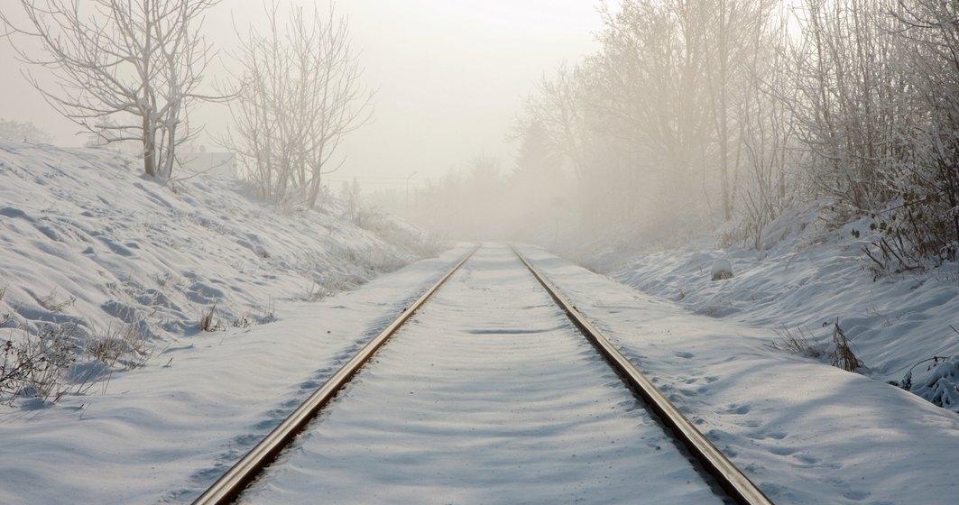 CFR: Întârzieri în circulaţia trenurilor spre şi dinspre Constanţa, din cauza temperaturilor scăzute