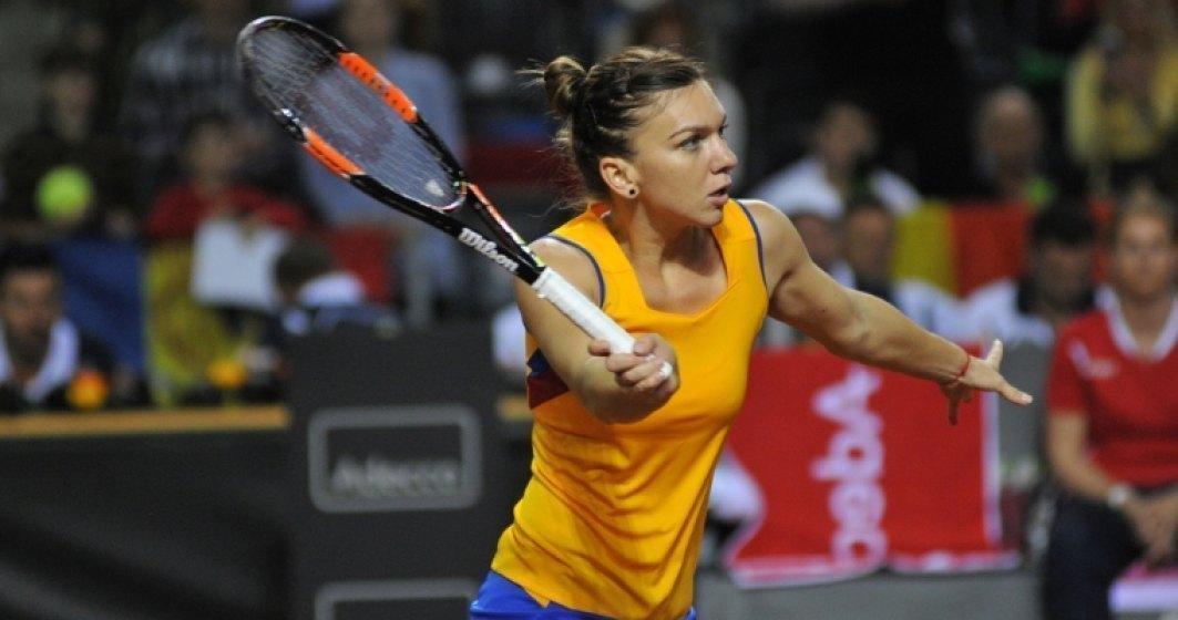 Simona Halep, victorie dificilă în primul tur la Praga, după o pauză de aproape 6 luni