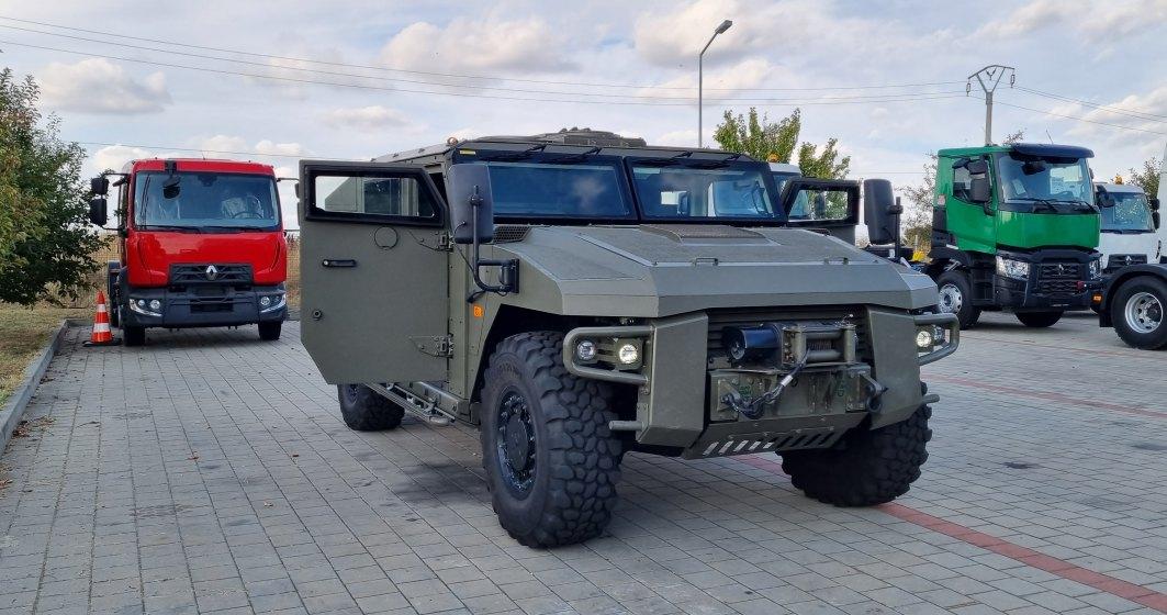 Cum arată vehicule blindate Sherpacare vor fi în oferta de licitații pentru Armata Română